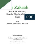 Die Zakaah - Eine kurze Abhandlung über Abgabepflicht im Islam
