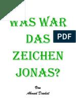 Was war das Zeichen Jonas ? - Ahmed Deedat