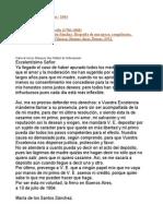 Carta Al Virrey Sobremonte