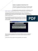 Como Instalar El Compilador de Turbo Pascal 7