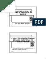1. Bases Del Comportamiento de Fases