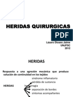1. HERIDAS QUIRURGICAS 2012