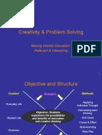 1SEM U.G(Personal),Creative Thinking & Problem Solving