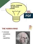 1SEM U.G(Personal)Critical Thinking & Decision Making.