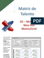 Matriz de Talento 9 Box Grid