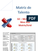 Matriz de Talento 9 Box Grid
