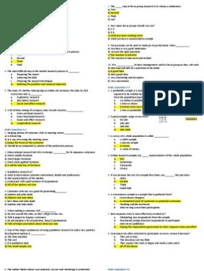 MAR3023 Module 4-6 Quizzes Q&A | Market Segmentation | New