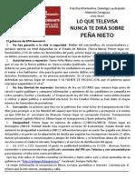 Cartel Informativo Saltillo