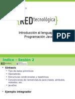 MATERIAL Seminiario I Sesion 2 Java
