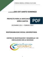 Proyecto Social Ni+¦os Santos