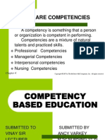 Competency Based Education