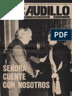 Revista El Caudillo. Buenos Aires, Nº 71, noviembre, 1975, año III
