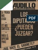 Revista El Caudillo. Buenos Aires, Nº 73, diciembre, 1975, año III
