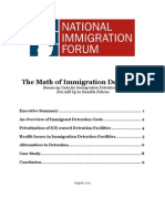 Math of Immigration Detention