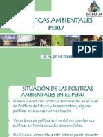 Peru - Politicas Ambientales