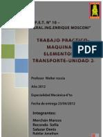 Maquinas y Elementos de Transporte Unidad 2