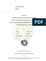 ANALISIS EFEKTIVITAS PENERAPAN SAP (SYTEM APPLICATION PRODUCT) R3 TERHADAP INFORMASI AKUNTANSI PADA PT TELEKOMUNIKASI INDONESIA, TBK. DIVISI REGIONAL I SUMATERA