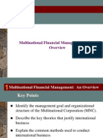 Ch 1- International Financial Management