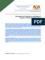 Documento de Arquitectura Del Negocio
