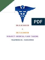 Medical Case Taking
