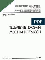 Tłumienie Drgań Mechanicznych - Józef Giergiel
