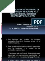 La Estructura de Propiedad de Las Empresas Peruanas