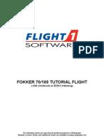 Fokker Tutorial LOWI-EDDH