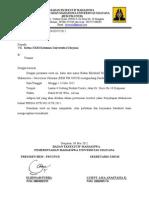 Surat Undangan UKM