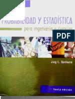 Probabilidad y Estadística Jay L. Devore 6ta ed