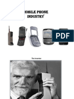 Mobile Handset Industry - Final