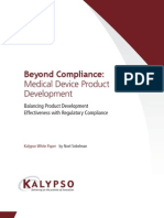 Beyond Compliance Medical Device Whitepaper