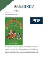 The Hindu Review on Annamayya Annamata on 22-06-2012