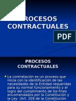 Presentaci n Procedimiento Contractual