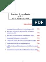 PDF La Loi Exponentielle.exos