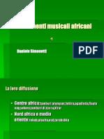 Gli Strumenti Musicali Africani