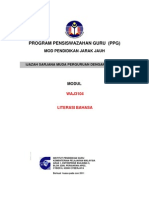 Modul Waj3104 Literasi Bahasa