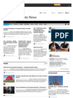 Health and Safety News 23 June 2012