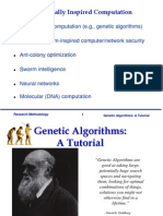 Genetic Algorithm Tutorial