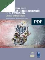 CEPAL - Argentina Ante La Nueva Internacionalizacion de La Produccion