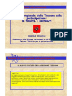 Partecipazione Toscana