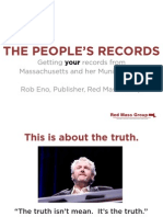 THE PEOPLE'S RECORDS