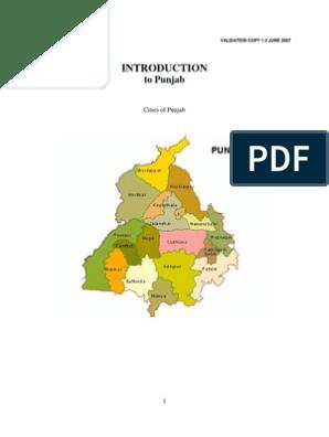 Introduction to Punjabi Language | Punjab | Sikhism