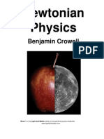 Newtonian Physics - Benjamin Crowell 1 of 6