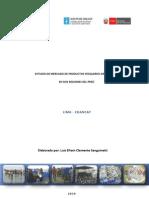 6- Estudio de Mercado Productos Pesca Artesanal LIMA CHANCAY