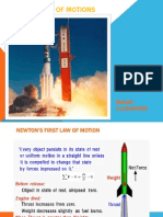 NEWTON'S LAW OF MOTIONS