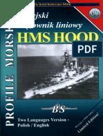 Profile Morskie 63 - Brytyjski Krazownik Liniowy HMS Hood