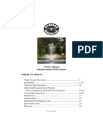 Instant Fountain Owners Manual[1]