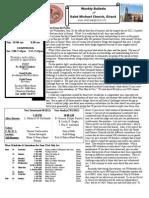 St. Michael's June 24, 2012 Bulletin