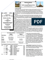 St. Joseph's June 24, 2012 Bulletin
