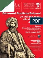 Mostra Museo Archeologico di Bologna su Belzoni